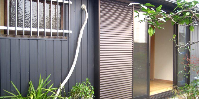 名古屋市昭和区 外壁ガルバリウム張替