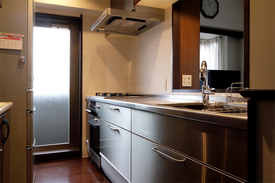 名古屋市千種区 厨房のようなシステムキッチン