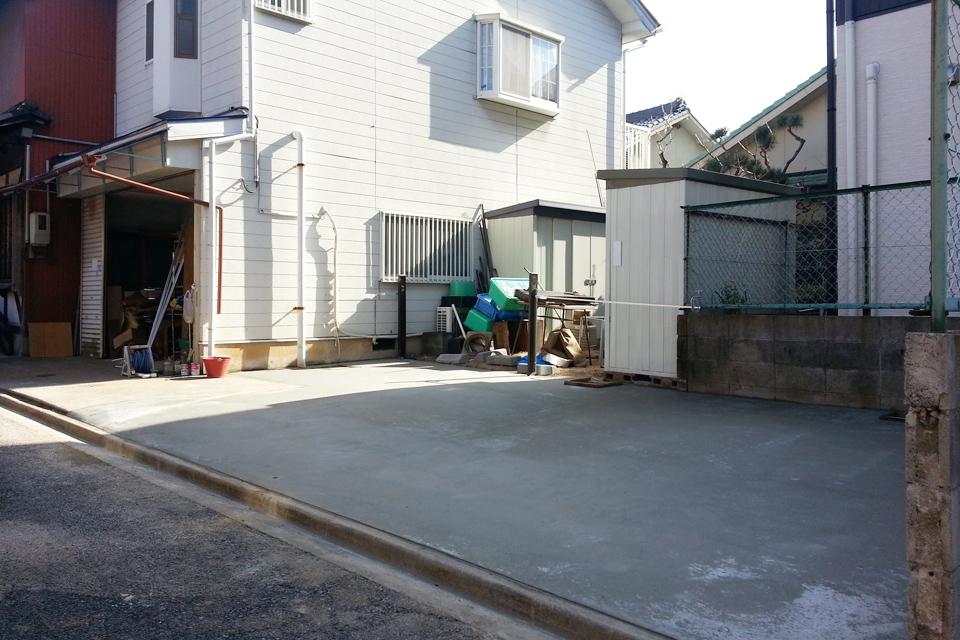 名古屋市昭和区 駐車場リフォーム