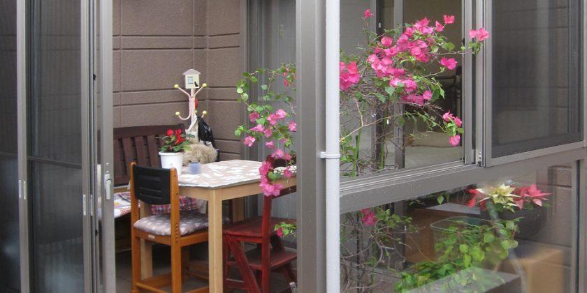 名古屋市瑞穂区 いつでも外干しテラス囲いリフォーム