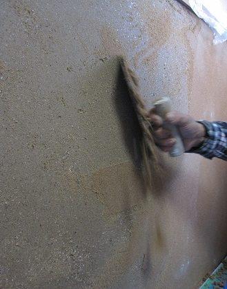 名古屋市昭和区 聚楽壁塗り替え工事 Part1 – 既存の聚楽壁はがし