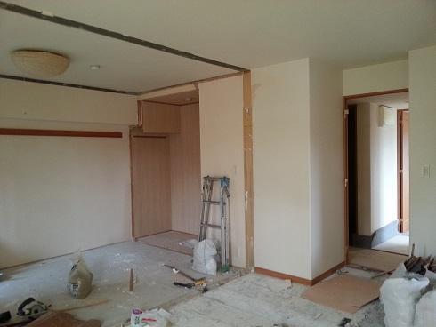 名古屋市昭和区AG様邸 マンションリフォーム Part1 – LDKと和室を一間に