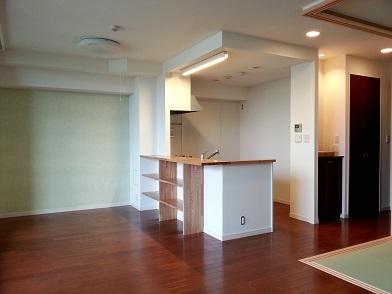 名古屋市千種区UD様邸 マンションリフォーム Part2 – キッチン完了