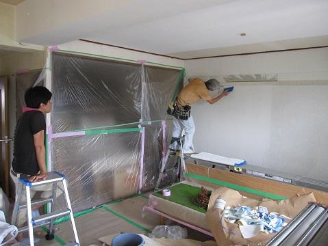 名古屋市昭和区IK様邸 内装リフォーム Part2 – 住みながらクロス張り替え