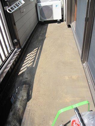 名古屋市瑞穂区HK様邸 防水工事 Part1 – ベランダ工事前準備