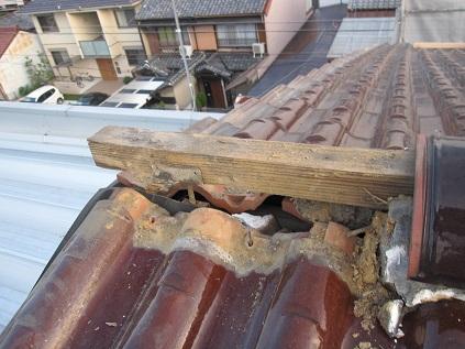 名古屋市昭和区IH様邸 屋根雨漏れリフォーム Part2 – 破風腐食