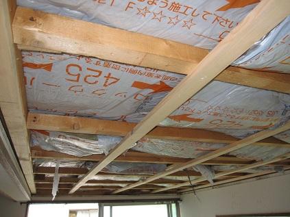 名古屋市昭和区SB様邸 天井断熱工事