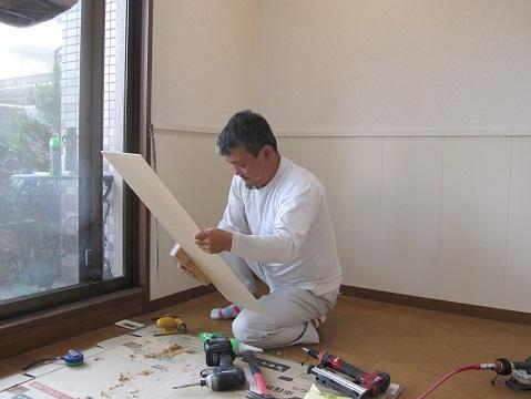 名古屋市北区 WN様邸 マンションペットリフォーム part2 – 大工工事