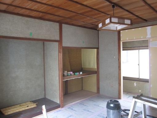 名古屋市昭和区TH様邸 戸建リノベーション 第一期Part3 – 大工工事
