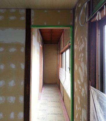 名古屋市昭和区TH様邸 戸建リノベーション 第一期Part4 – 壁下地
