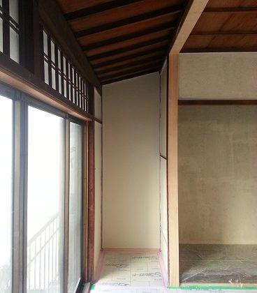 名古屋市昭和区TH様邸 戸建リノベーション 第一期Part5 – 壁塗装