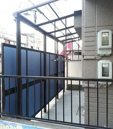 名古屋市昭和区OH様邸 テラス屋根リフォーム