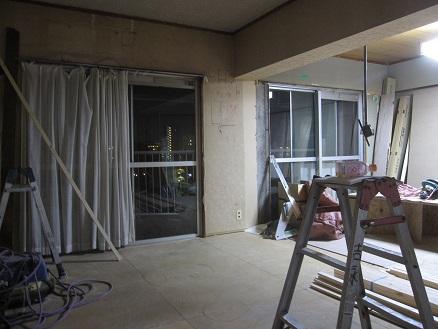 名古屋市昭和区NT様邸 マンションリノベーション Part1-解体