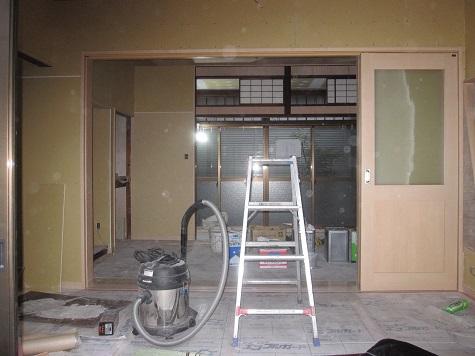 名古屋市昭和区TH様邸 戸建リノベーション 第二期Part6-大工さん完了