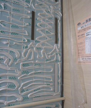 名古屋市千種区YD様邸 浴室リフォーム Part1-パネル貼り