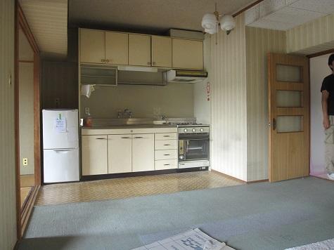 名古屋市昭和区KD様邸 マンションリノベーション Part1 – キッチン・浴室解体