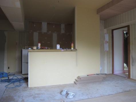 名古屋市昭和区KD様邸 マンションリノベーション Part4 – 大工工事