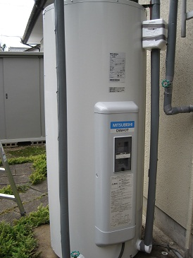 名古屋市瑞穂区 電気温水器取替工事