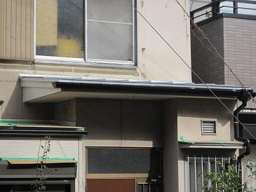 名古屋市瑞穂区ID様邸 玄関庇修繕Part3 – 完了
