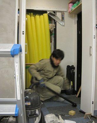 名古屋市昭和区 エイトワークス オフィスリフォームプロローグ11 – 倉庫の整理