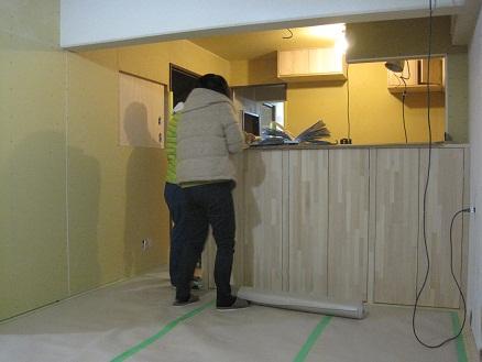 名古屋市瑞穂区KG様邸 マンションリノベーション Part16 – 家具工事