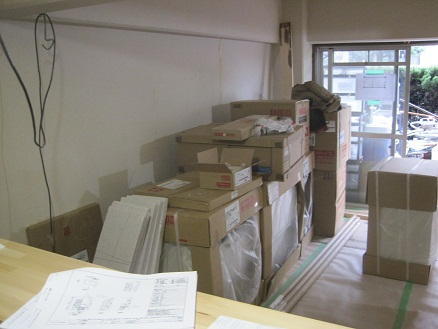 名古屋市瑞穂区KG様邸 マンションリノベーション Part17 – キッチン搬入