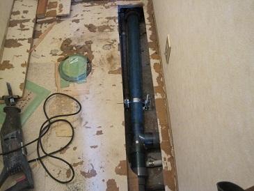 名古屋市昭和区 マンション 排水管入替工事