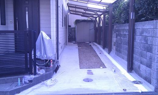 名古屋市昭和区SY様邸 外構工事Part3 – 完了