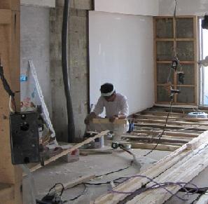 名古屋市南区NKビル 賃貸マンション入居率アップリフォームPart3 – 床の造作