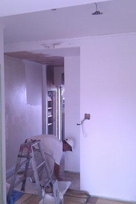 名古屋市南区NKビル 賃貸マンション入居率アップリフォームPart7 – 壁の塗装工事