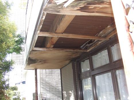 名古屋市昭和区 雨漏り修理Part1 – 現場調査