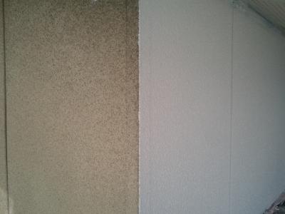 名古屋市昭和区A様邸 外壁塗装・屋根漆喰修理Part2 – 外壁下塗り