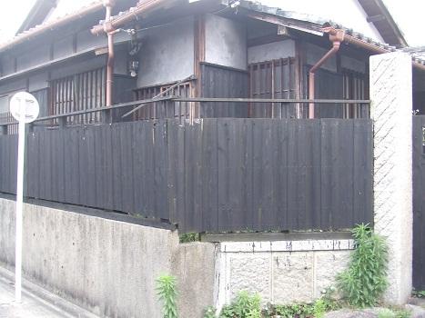 名古屋市昭和区KD様邸 木塀(ウッドフェンス)Part1 – 木材搬入