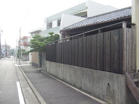 名古屋市昭和区KD様邸 木塀(ウッドフェンス)Part3 – 塗装