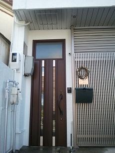 名古屋市 玄関ドア・外装 1dayリフォーム