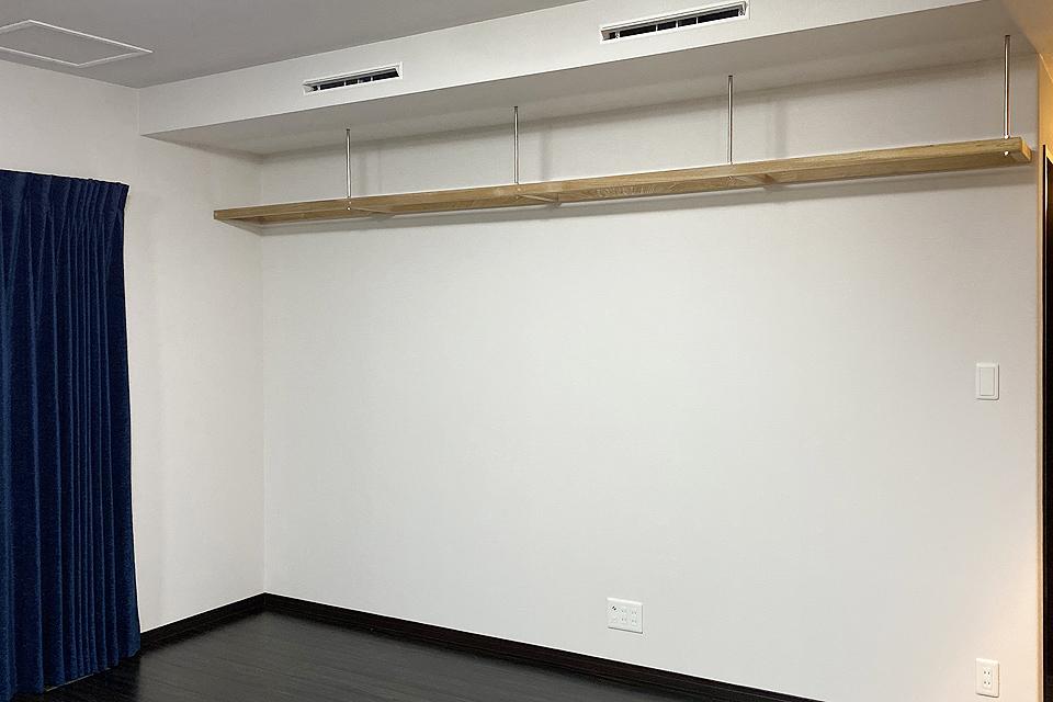 静岡県富士市 透明キャットウォーク(新築購入時施工)