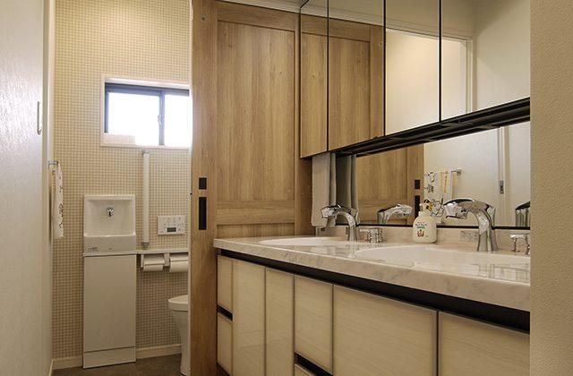 名古屋市昭和区 トイレ・洗面化粧台を自動水栓でコロナ対策